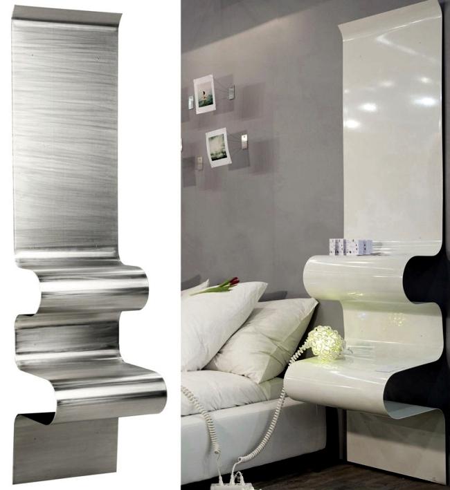 29 practical designer bedside tables for your modern for Bedside table design